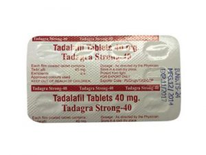 Acquista online Tadagra Strong 40mg steroide legale