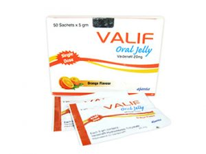 Acquista online Valif Oral Jelly 20mg steroide legale